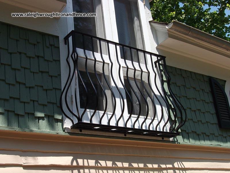Iron juliet balcony raleigh wrought co