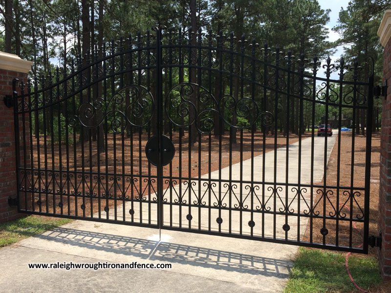 Iron Gate Fabricator Raleigh Nc