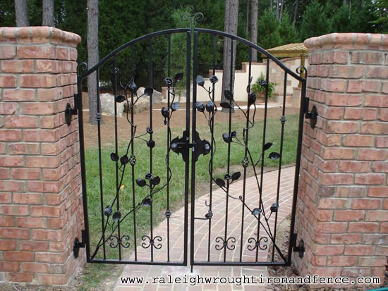 Wrought Iron Gates: Raleigh Wrought Iron And Fence Co. Custom Wrought Iron