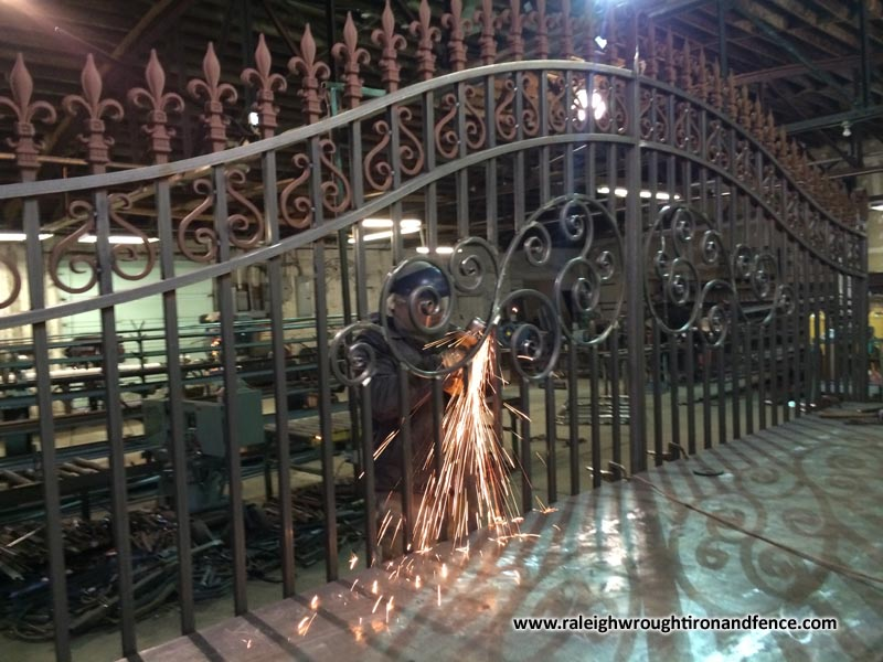 Custom Made Iron Firepit And Fireplace Screen Doors